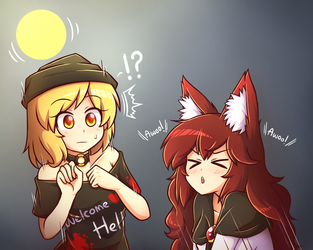 Real Awoo Stuff by miwol