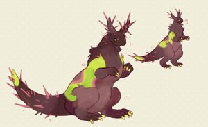 Takin offers? - Saddleback Caterpillar by occultic