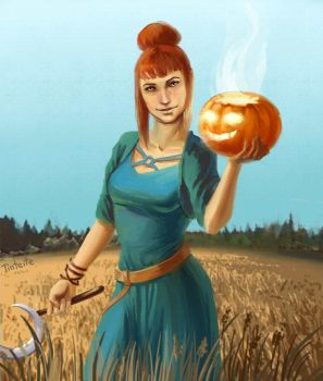 Harvest time by tin-sulwen
