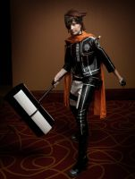D. Gray-man - The Iron Hammer by SuperWeaselPrincess