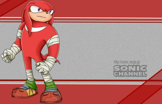 Knuckles The Echidna [SC] by NellyTHedge09