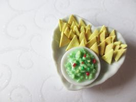 Miniature Nacho Plate by Shiritsu