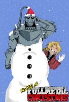 Fullmetal Christmas by MetalheadSD