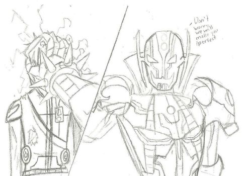 Hideki lost against Ultron Sigma by XDemonic-AngelX