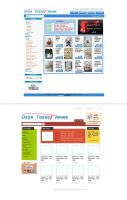 web shopping site design by spader725