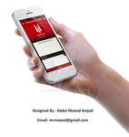 Mobile App Design by amoeed