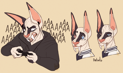 Scream.png by LilBigHuman