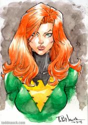 Jean Grey, Phoenix by ToddNauck