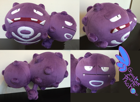 Weezing Pokemon Plush 21'' Huge by GuardianEarthPlush