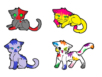 One Point Adoptables by StarLiveta24