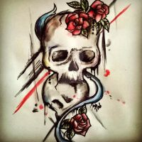 Another tattoo sketch by Diuus