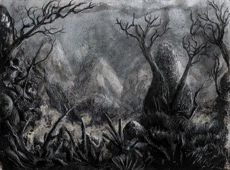 Dark Forest by Ariad-Arts