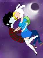 - Marshall-lee and Fionna by Moony-14-Lucky