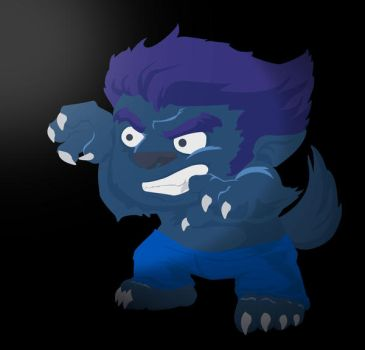 werewolf vector2 by renatothally
