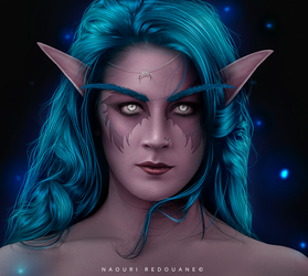 Night Elf by NaouriRedouane1998