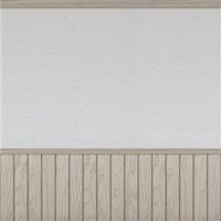 White Wall And Panelling (beige) by Rosemoji