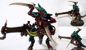 Tyranid Warrior by Mantis-nk