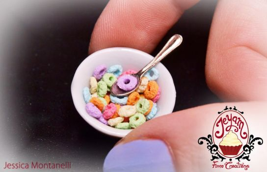Miniature Cheerios Fruity Bowl by Jeyam-PClay