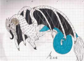Dragonic aries 08.06.2012 by LacrimareObscura