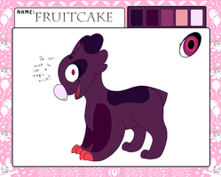 Fruitcake's Reference (Approved!) by TwistedTheFox
