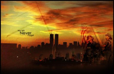 We will never forget by dekand