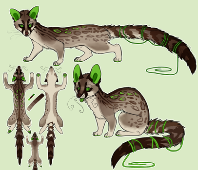 Spotted Genet! [SOLD] by coyip