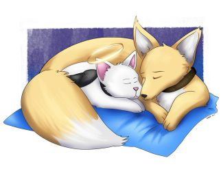 Naptime (commission) by bugbyte