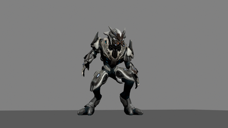 Sangheili roar [3ds max animation] by E1XBlaster