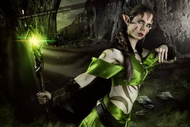 Nissa Revane - Magic The Gathering by FioreSofen