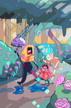 BOOM! Studios | STEVEN UNIVERSE Cover Variant #13 by PenBee