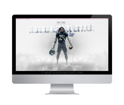 Marshawn Lynch 'No Place To Hide' by bart-b