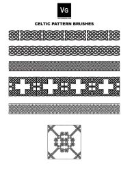 Celtic Pattern Brushes by vectorgeek