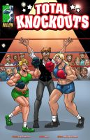 Total Knockouts - Whiskey Makes Them Frisky by muscle-fan-comics