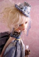 The Little Duchess detail by Inchelina