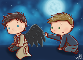 SPN - How to train your angel by ArcherVale