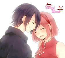 Render 29 SasuSaku by UsagiHikari
