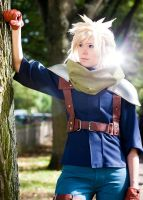FF VII - Crisis Core - Cloud Strife by Evil-Uke-Sora