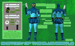 Anatomy of the Blue Beetle by blubeetle3