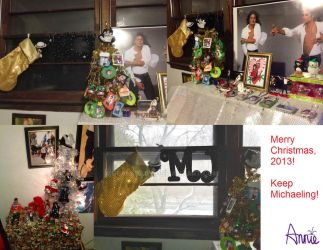 Merry Christmas 2013 - MJ Room and Decorations by Glam-Baby