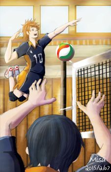 Haikyuu! fan art Illustration by DREAMSOFASINGER