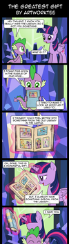 The Greatest Gift by artwork-tee