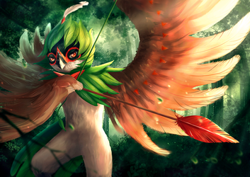 Decidueye by b1tterRabbit
