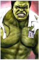 Hulk by Art-by-Jilani