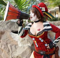 Mad Moxxi- Fight~! by DustbunnyCosplay