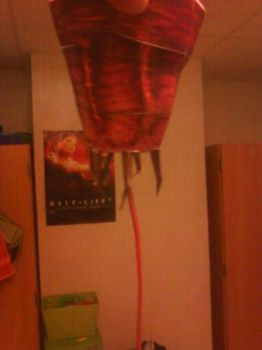 Half-Life Barnacle Papercraft by Dreamparacite