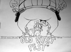 Old West Pest by JackOrJohn