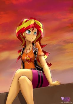 Sunset Shimmer by iloota