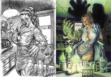 Dr Jekyll then and now by huy-truong