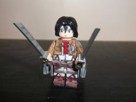 LEGO Attack on Titan: Mikasa Ackerman by TommySkywalker11