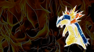 Typhlosion Wallpaper by Viatrice